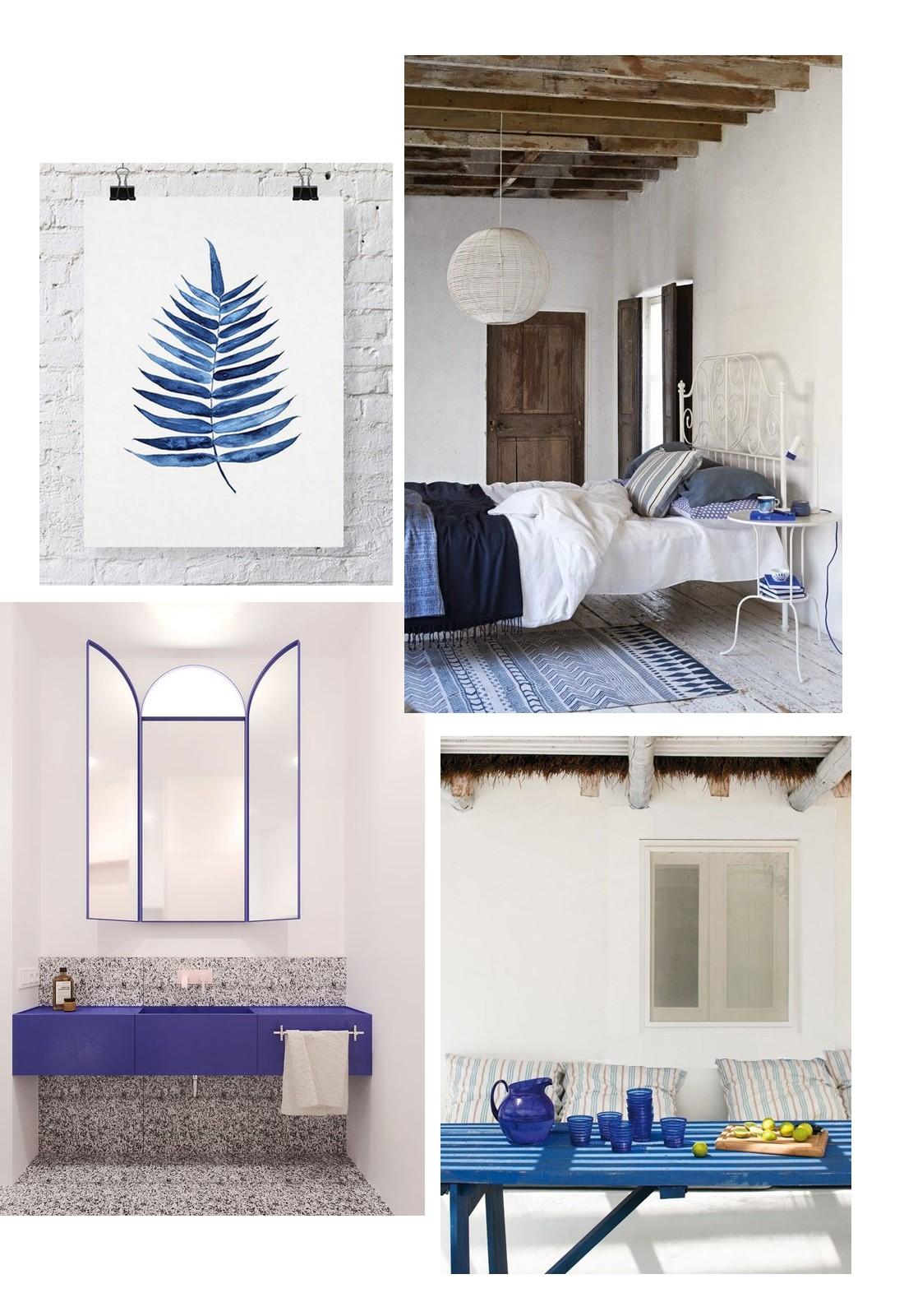 Le bleu-blanc grecque - mes couleurs déco pour l\'été! -