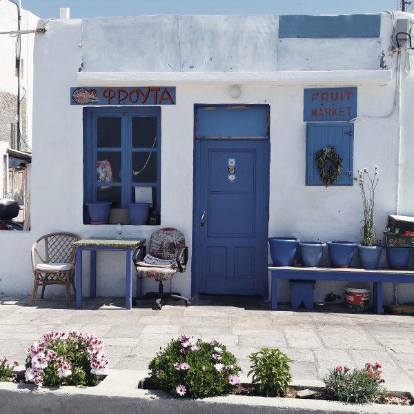 Le bleu-blanc grecque – mes couleurs déco pour l\'été!