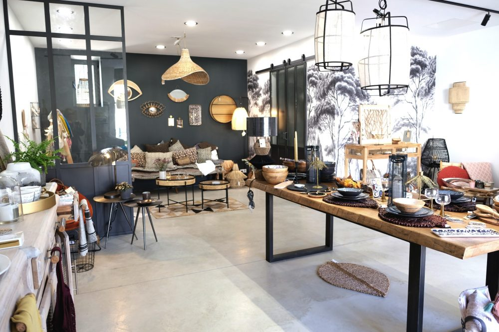 Interior design shopping east of Marseille at Beau M conceptstore