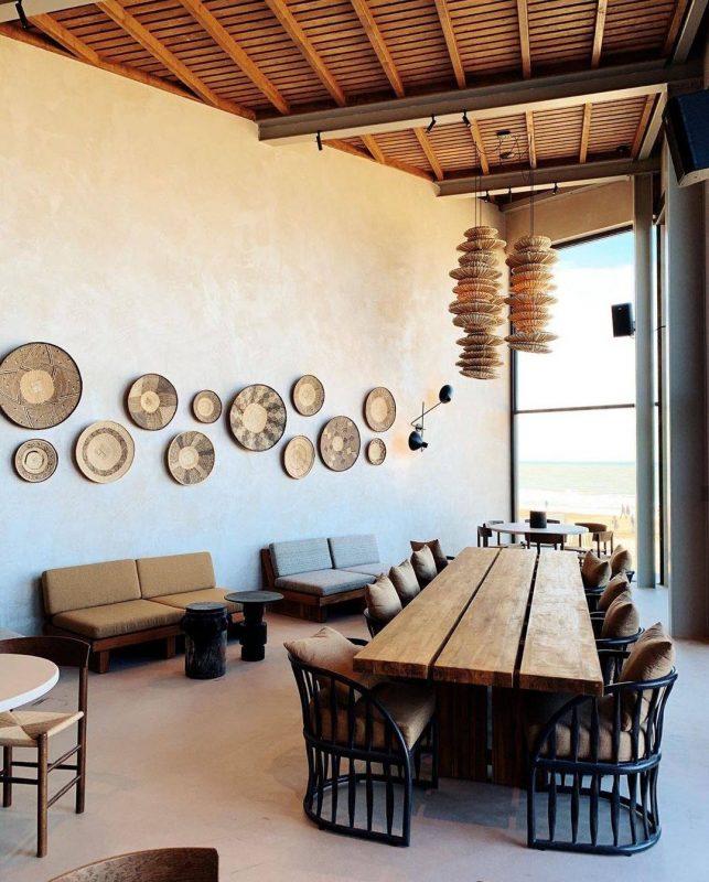 Dreamy beach restaurant wabi-sabi make over