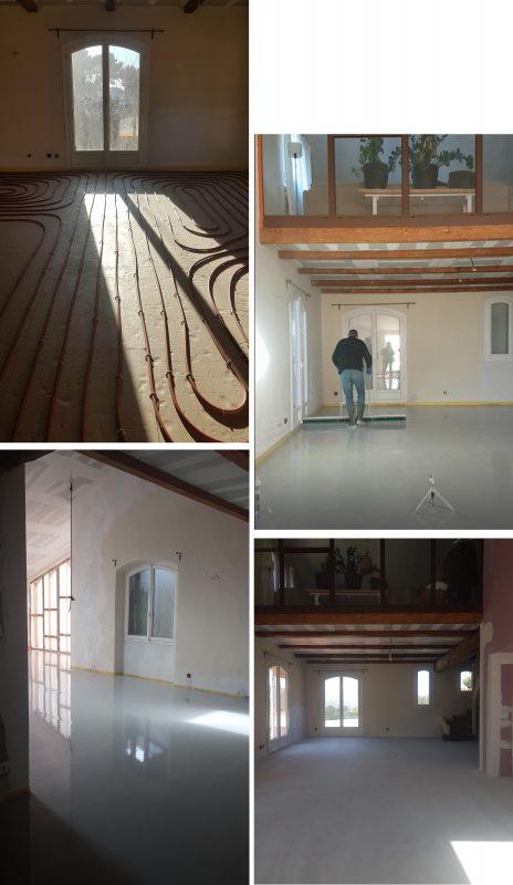 Retour en arrière sur nos travaux réno - Le projet poêle à bois et la salle à manger.