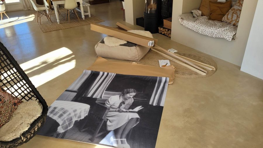How to use a vintage photo to personalize your home.
